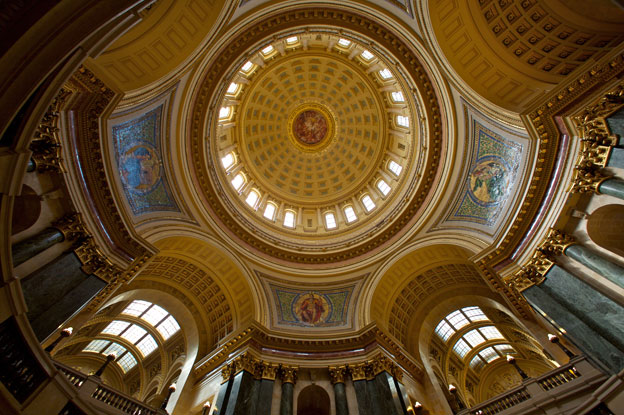 Wisconsin State Capitol - Madison / George B. Post & Sons Architect