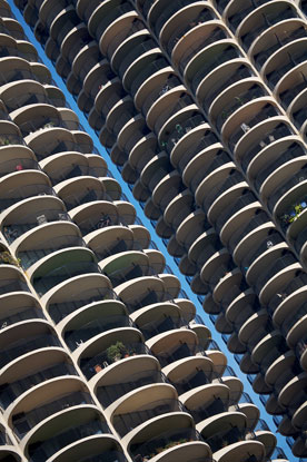 Marina City Building - Chicago / Bertrand Goldberg Architect