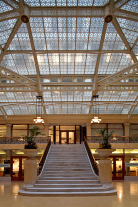The Rookery Building - Lobby Renovation - Chicago / Frank Lloyd Wright Architect