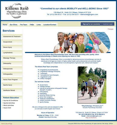 Killens Reid Physio Therapy Clinic