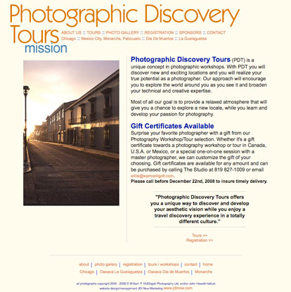 Photographic Discovery Tours