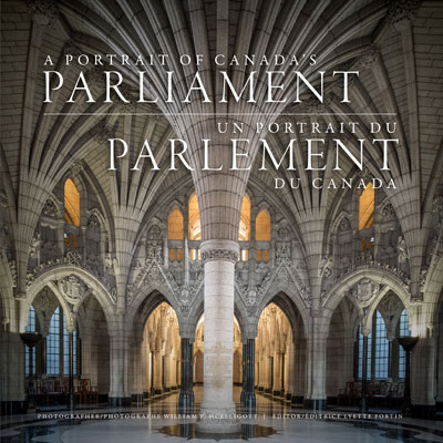 Aportrait of Canada Parliament coffee-table book